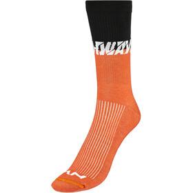 Northwave Edge Socks, zwart/oranje